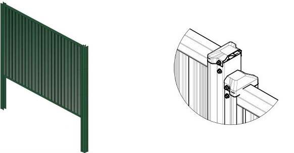 Modular and sectional fences